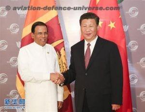 Xi Jinping Meets with President Maithripala Sirisena of Sri Lanka