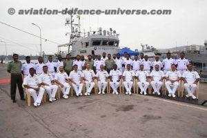 Maldivian Coast Guard Ship Huravee