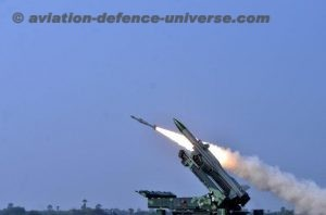 weapons firing exercise of Surface to Air Missile