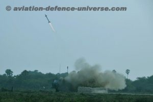 Glimpses of the combined guided weapons firing exercise