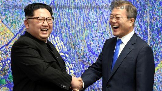 North & South Koreas