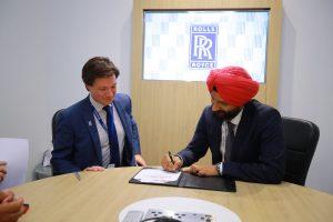 Justin Mills, Vice President (Customers) – Civil Aerospace for Rolls-Royce