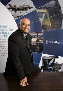 Mr. Kishore Jayaraman, President, Rolls-Royce- India & South Asia