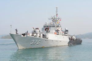 Indonesian Naval Ship KRI Sultan Thaha Syaifuddin