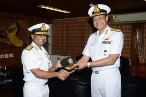 Rear Admiral Krishna Swaminathan assumes charge