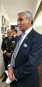Naval veteran Vice Admiral IJS Khurana