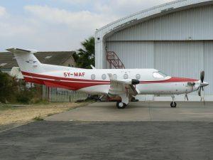 MAF operates aircraft