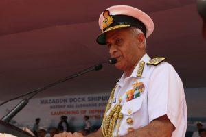 Admiral Sunil Lanba Chief of the Naval Staff
