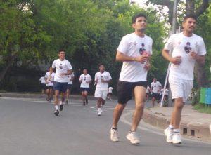 Indian Air Force Half Marathon