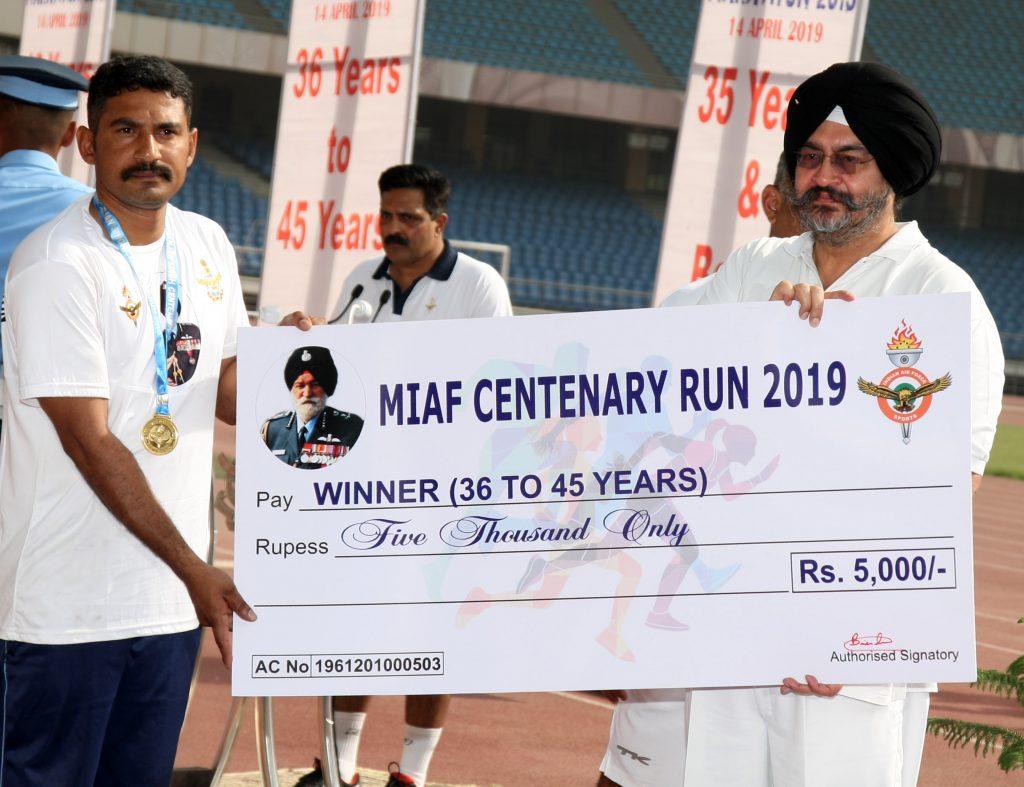 Half Marathon in Air Force Stations