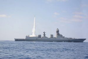 Indian Navy conducts firing trials for MRSAM