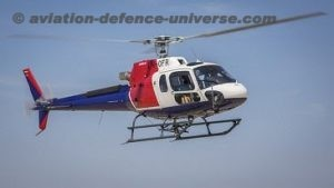 Airbus H125 helicopters