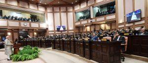 Narendra Modi addressing the Majlis, the Parliament of Maldives