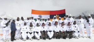 Indian Defence Minister Visits Siachen Glacier