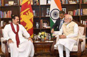 The former President and Leader of Opposition, Sri Lanka