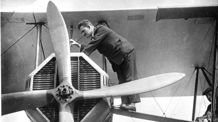 Engineer Eric Platford