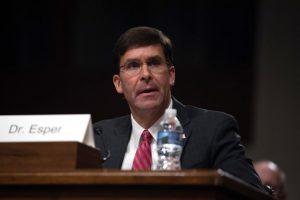Dr. Mark T. Esper ,U.S. Secretary of Defence