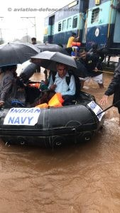 Indian Navy Rescues Train