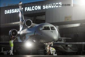 Falcon airborne support