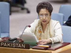 Maleeha Lodhi Pakistan's Ambassador to UN has started giving interviews to the western media