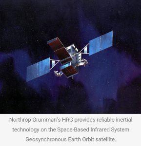 Northrop Grumman built HRG ( hemispherical resonator gyro )