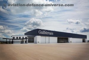 Gulfstream's expanded facility in Appleton, Wisconsin.