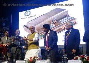 The Hon'ble Raksha Mantri, Shri Rajnath Singh, inaugurating the 7th edition of 'Engineers Conclave' (EC-2019).