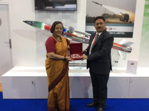 CMD BDL welcoming the Indian High Commissioner of UK