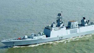 the Multipurpose Guided Missile Frigate Sahyadri and ASW Corvette Kiltan