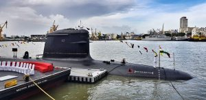 Indian Navy's Indigenously Built Submarine INS Khanderi Got Commissioned