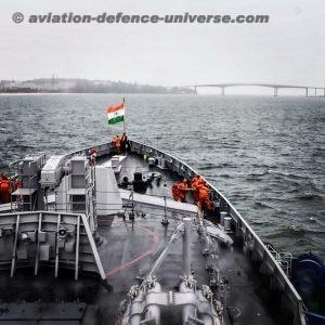 Visit of Indian Naval Ships to Sihanoukville, Cambodia   ADU
