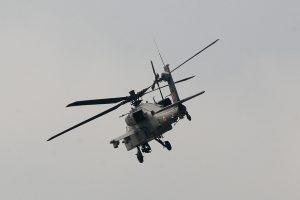 India's Apache landing in Pathankot Air Base