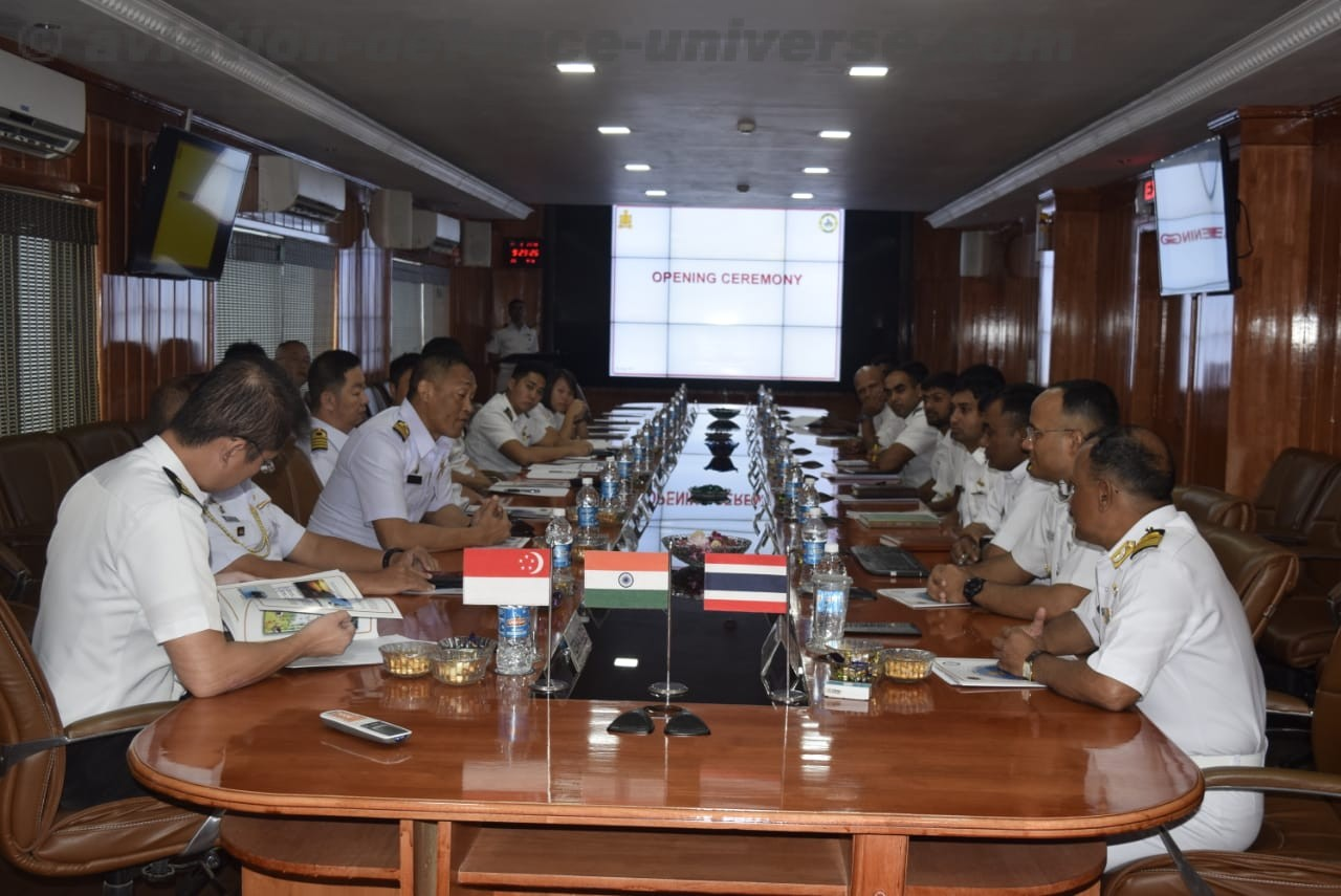 maiden trilateral exercise