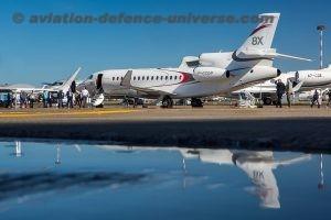 Dassault Aviation's Falcon 8X