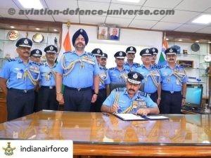 Chief. Air Marshal RKS Bhaduria