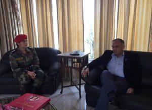 Lt Gen Ashwani interviewed Lt Col Nandani
