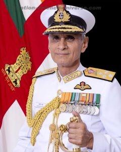 Indian Navy Chief Admiral Karambir Singh