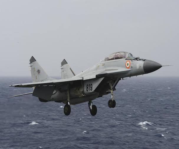 MiG-29K aircraft