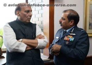 Hon'ble defence minister Shri Rajnath Singh