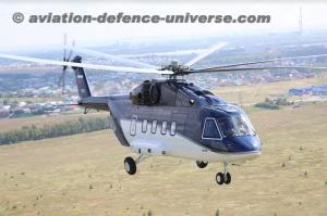 Mi-38 civilian helicopter