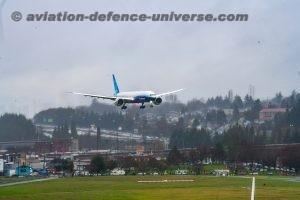 Boeing  777X jetliner