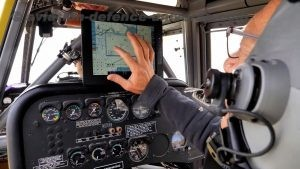 Elbit Systems HyDrop command and control display