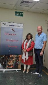 Editor ADU Sangeeta Saxena with Ralph Setz