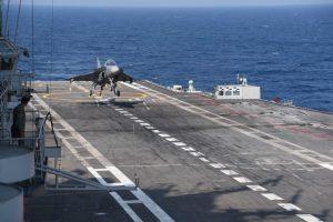 LCA Navy lands onboard INS Vikramaditya