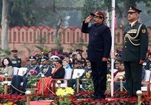 Indian MoS(Defence) Shripad Yesso Naik