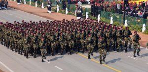 The Parachute Regiment Marching