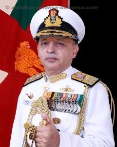 Vice Admiral AK Chawla