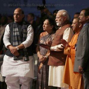 Narendra Modi addressing at the inauguration