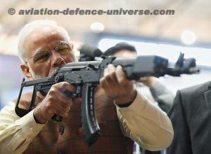 Narendra Modi visiting the Pavilions