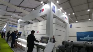 RR stand at Defexpo 2020
